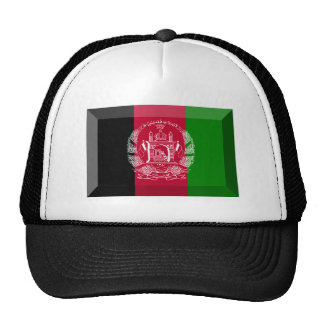Afghanistan Flag Jewel Cap
