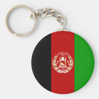 Afghanistan Flag Key Ring