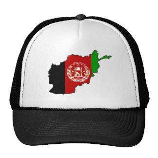 Afghanistan Flag Map Cap