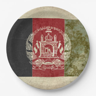 Afghanistan Flag Paper Plates
