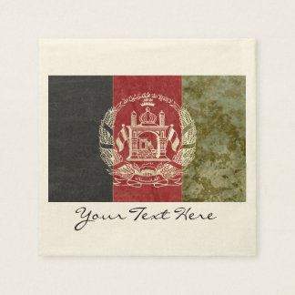 Afghanistan Flag Party Napkins Disposable Napkin