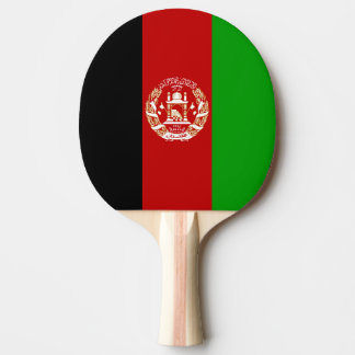 Afghanistan Flag Ping Pong Paddle