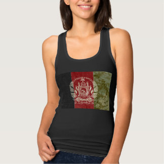 Afghanistan Flag Tank Top