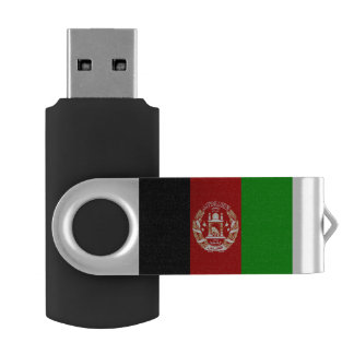 Afghanistan Flag USB Flash Drive