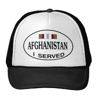 AFGHANISTAN I SERVED CAP