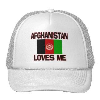 Afghanistan Loves Me Mesh Hat