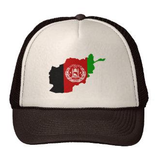 AFGHANISTAN MAP CAP