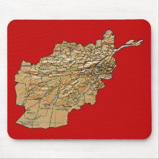 Afghanistan Map Mousepad