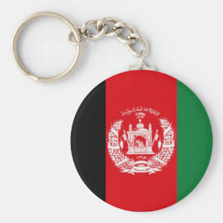Afghanistan National Flag Key Ring