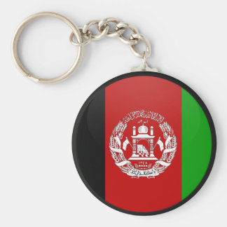 Afghanistan quality Flag Circle Key Ring