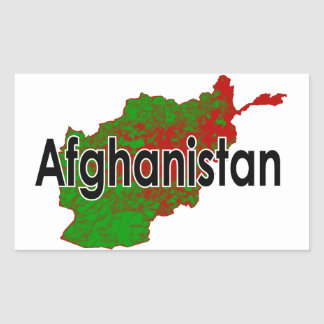 Afghanistan Rectangular Sticker