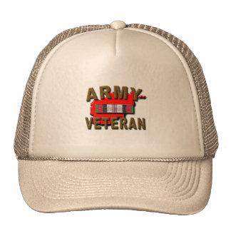 Afghanistan Service Ribbon Cap