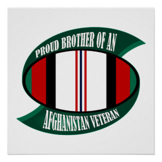 Afghanistan Vet Brother Poster
