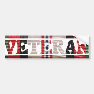 Afghanistan Veteran  CMR Bumper Sticker
