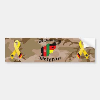 Afghanistan veteran German Bumper Stickers
