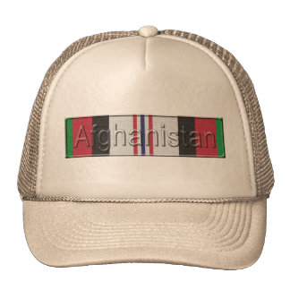 Afghanistan War Service Ribbon Cap