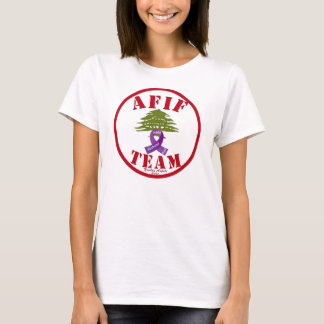 Afif Pancreatic Cancer T-Shirt