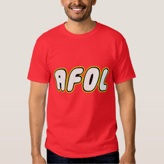 AFOL on front, Customize My Minifig on back T Shirt