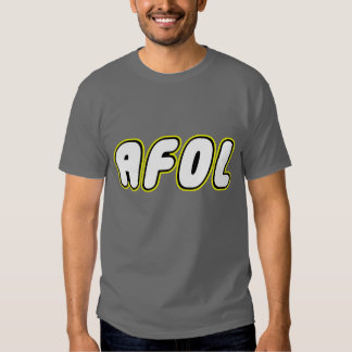 AFOL on front, White Minifig on rear Shirt