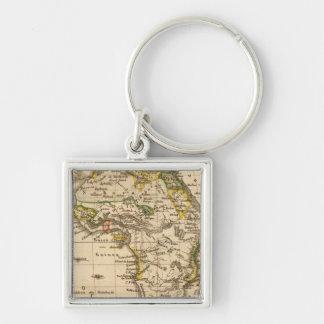 Africa 16 key chain