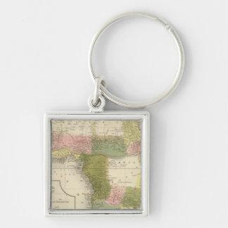 Africa 25 key chain
