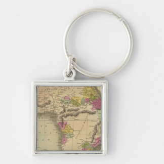Africa 48 key chains