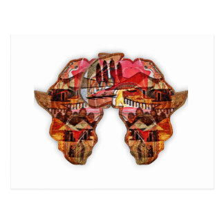 Africa Africa Postcard