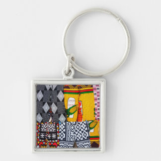 Africa, Angola, Benguela. Brightly Colored Pants Keychains