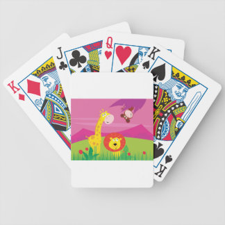 AFRICA ANIMALS VINTAGE ART COLLECTION BICYCLE PLAYING CARDS
