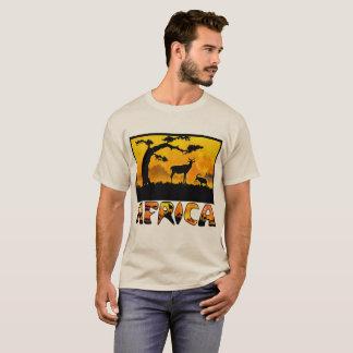 Africa Antelope Sunset Tshirt