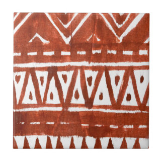 Africa art small square tile