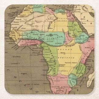 Africa, Atlantic Square Paper Coaster