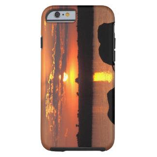 Africa, Botswana, Chobe National Park, Herd of Tough iPhone 6 Case