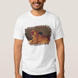 Africa,Botswana,Moremi Wildlife Reserve. Lioness T-shirt