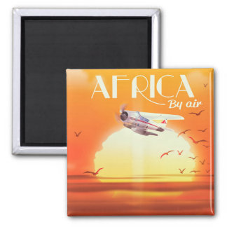 Africa By Air Magnet