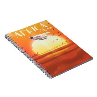 Africa By Air Notebook
