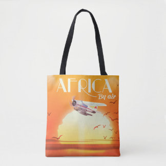 Africa By Air Tote Bag