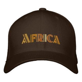 Africa Earth colors baseball cap