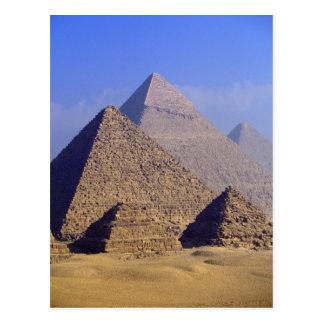 Africa, Egypt, Cairo, Giza. Great pyramids Postcard