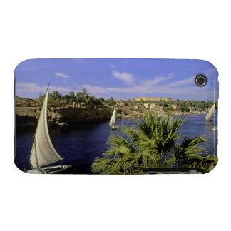 Africa, Egypt, Upper Egypt, Aswan. Feluccas 2 Case-Mate iPhone 3 Cases