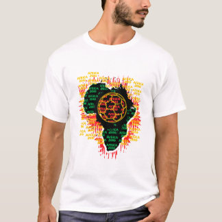 Africa for Africa by Zetuzakale - Ball T-Shirt