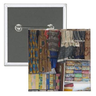 Africa, Ghana, Accra. Accra Textile & Handicraft 15 Cm Square Badge