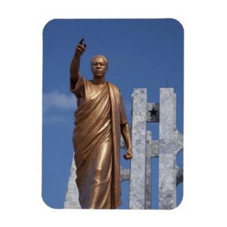 Africa, Ghana, Accra. Nkrumah Mausoleum, final Rectangular Photo Magnet