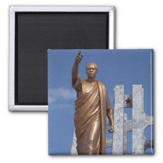 Africa, Ghana, Accra. Nkrumah Mausoleum, final Square Magnet