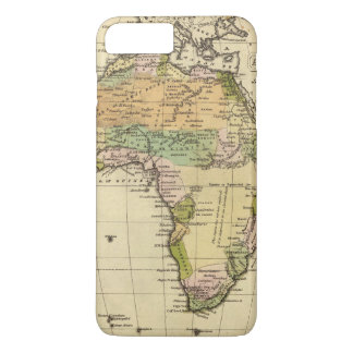Africa Hand Colored Atlas Map iPhone 7 Plus Case