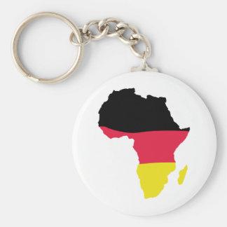 africa icon german flag basic round button key ring