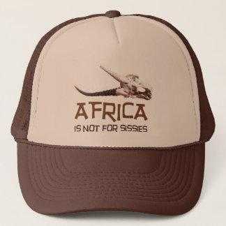 Africa is not for sissies: African Springbok skull Trucker Hat