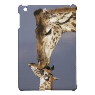 Africa, Kenya, Masai Mara. Giraffes (Giraffe Cover For The iPad Mini