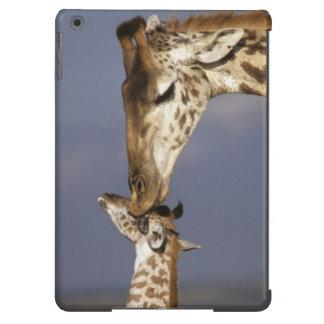 Africa, Kenya, Masai Mara. Giraffes (Giraffe iPad Air Case