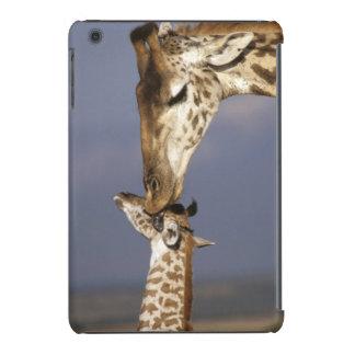 Africa, Kenya, Masai Mara. Giraffes (Giraffe iPad Mini Retina Cover